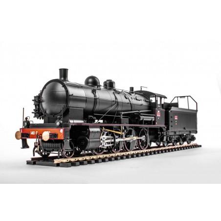 LOCOMOTIVE A VAPEUR 140C 70 SNCF REGION EST ECHELLE ZERO