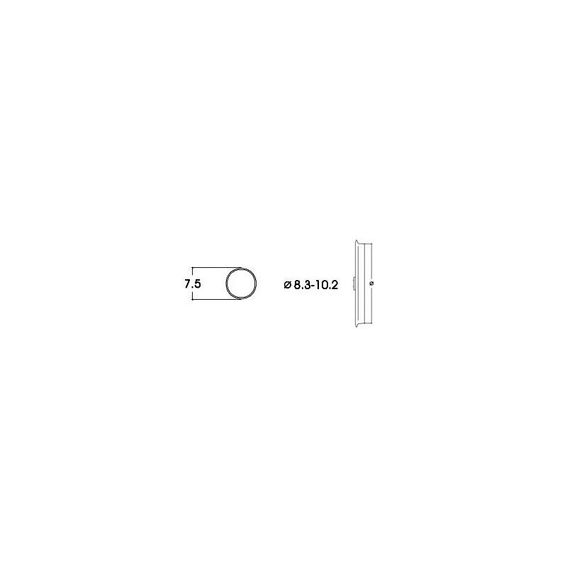 BANDAGES DE ROUES DIAMETRE 7,5 mm ROCO 40068
