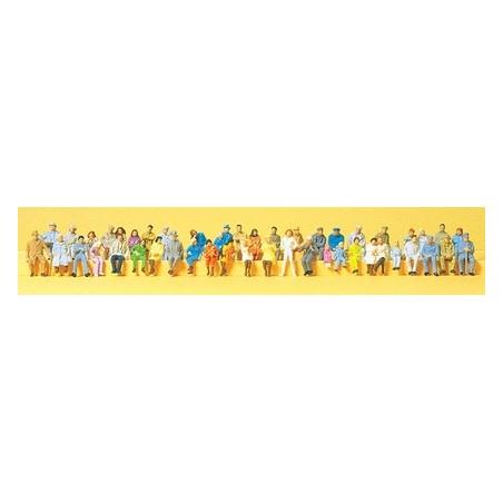 LOT 48 PERSONNAGES ASSIS DE PREISER 14416