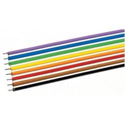 8 CABLES PLATS / LONGUEUR 10 METRES PAR ROCO 10628
