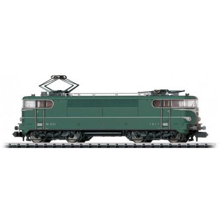 LOCOMOTIVE ELECTRIQUE BB 9222 SNCF DC SONORE DE MINITRIX 16692