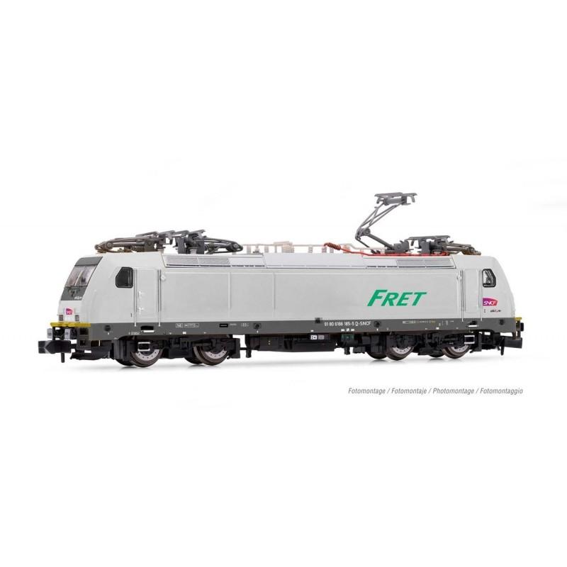 LOCOMOTIVE ELECTRIQUE CLASS 186 SNCF DIGITALE DCC ECHELLE N PAR ARNOLD HN2497D