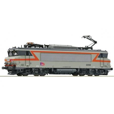 LOCOMOTIVE ELECTRIQUE BB 22332 DE LA SNCF ANALOGIQUE Ep.VI ECHELLE HO PAR ROCO 73877