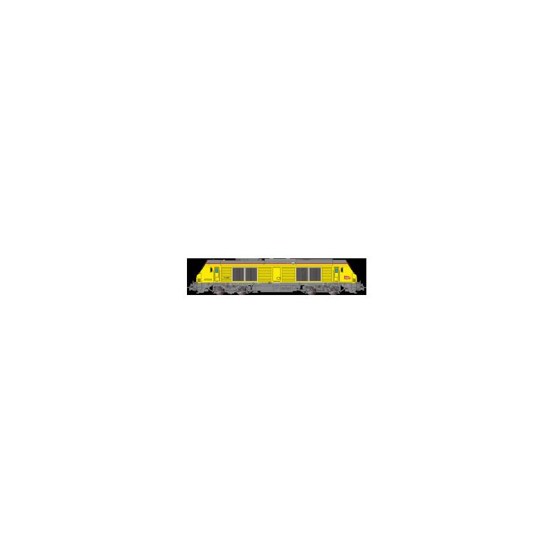 LOCOMOTIVE DIESEL, BB655006 SNCF Ep.VI, HO, ANALOGIQUE,PAR OSKAR OS7503