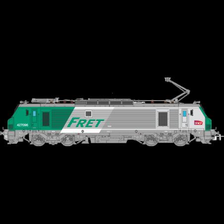 LOCOMOTIVE ELECTRIQUE BB 427096, FRET SNCF, Ep VI, HO, LOGO CARMILLON, DIGITALE SONORE, PAR OSKAR OS2701DCCS
