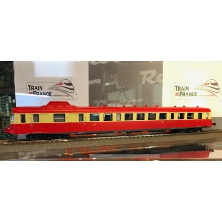 AUTORAIL X2800 SNCF ROUGE CREME DE ROCO 73008D