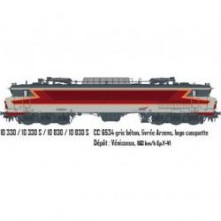 LOCOMOTIVE CC 6534 SNCF LOGO CASQUETTE DC SOUNORE DE LS MODELS 10330S